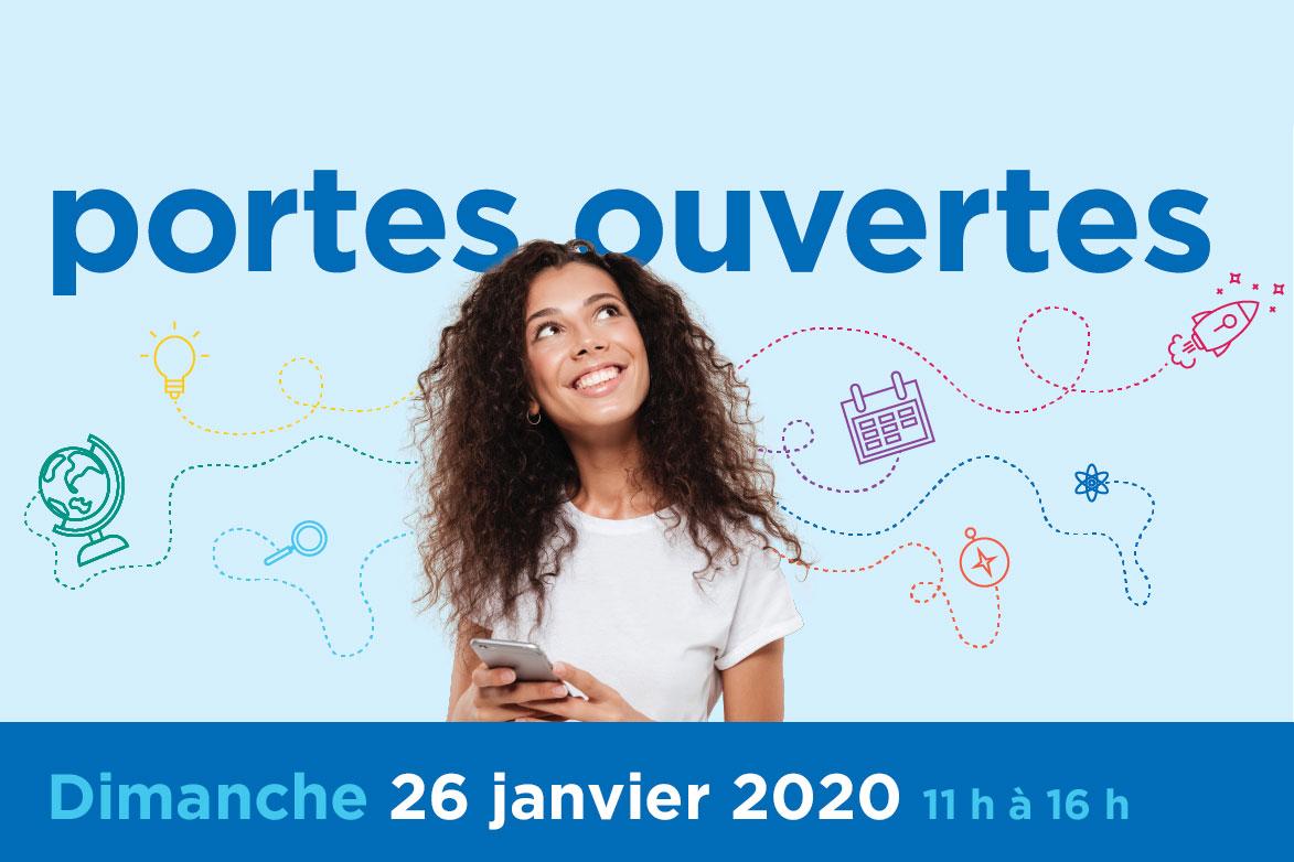 Portes ouvertes le 26 janvier 2020